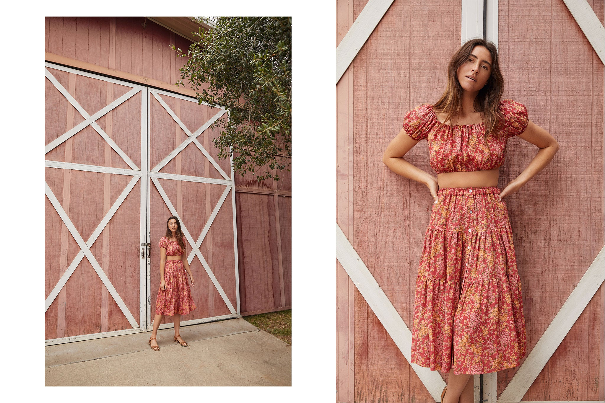 The Margot Two Piece | Thulian Floral