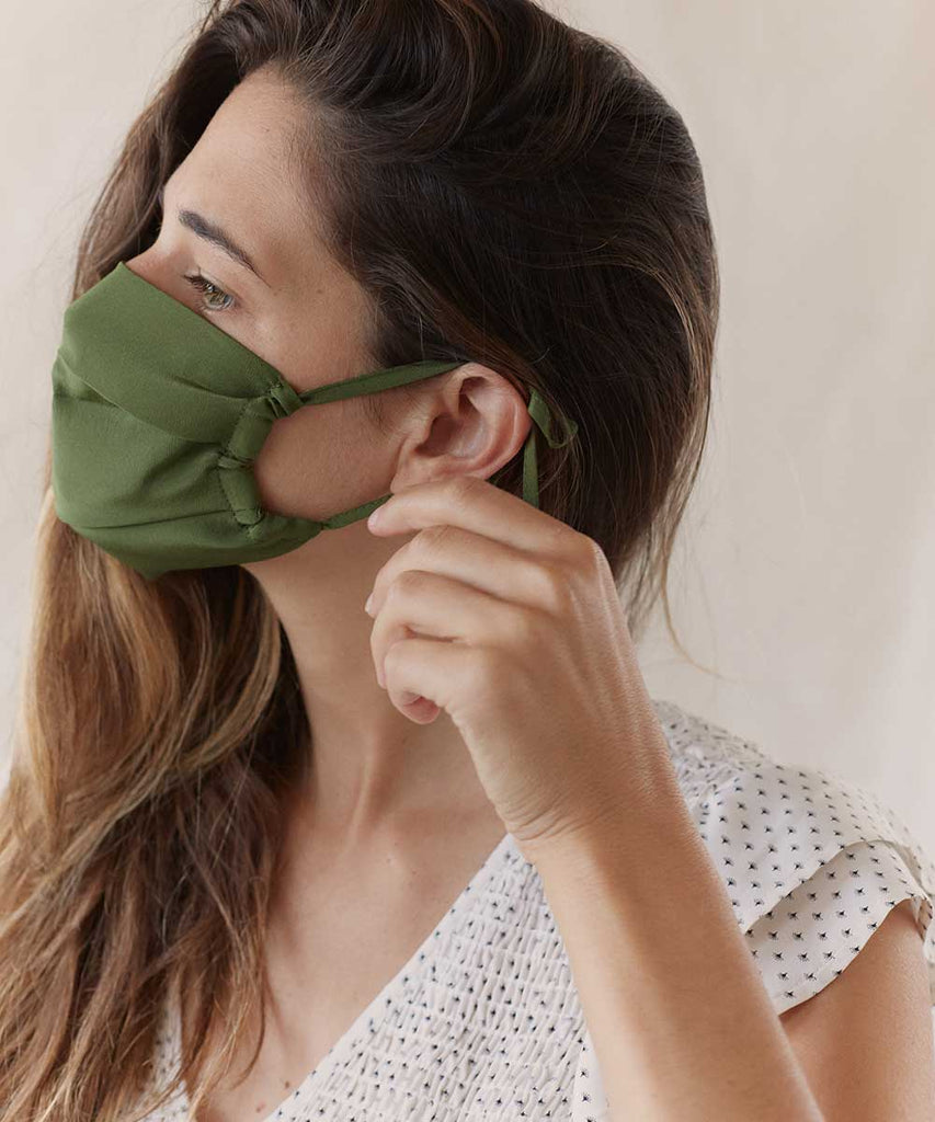 The Sustainable Mask | Adult Silk (Individual Assorted Colors)
