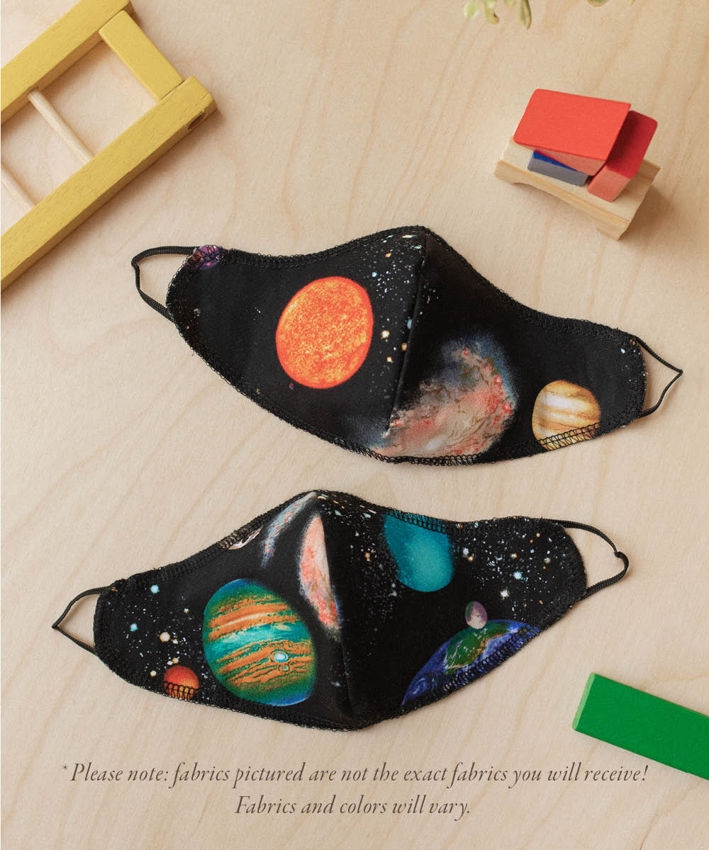 The Sustainable Mask | Kids Space 2-Pack