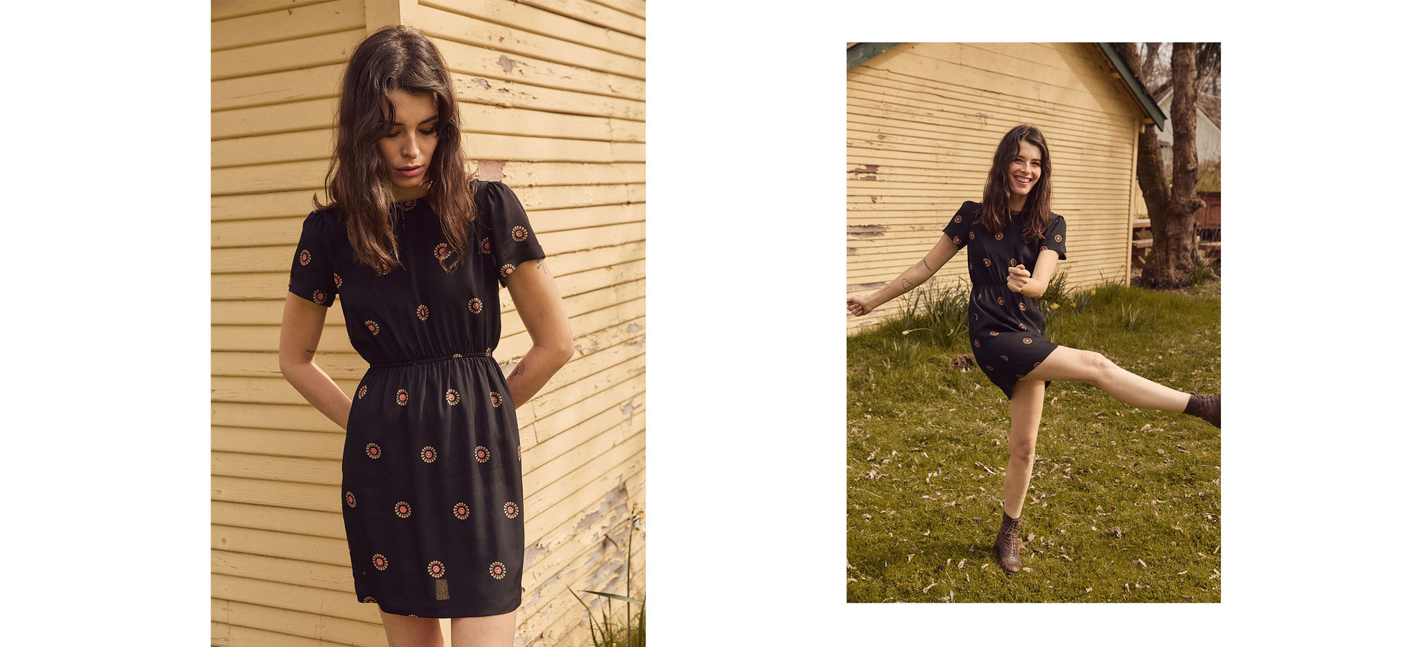 The Matilda Dress | Ebony