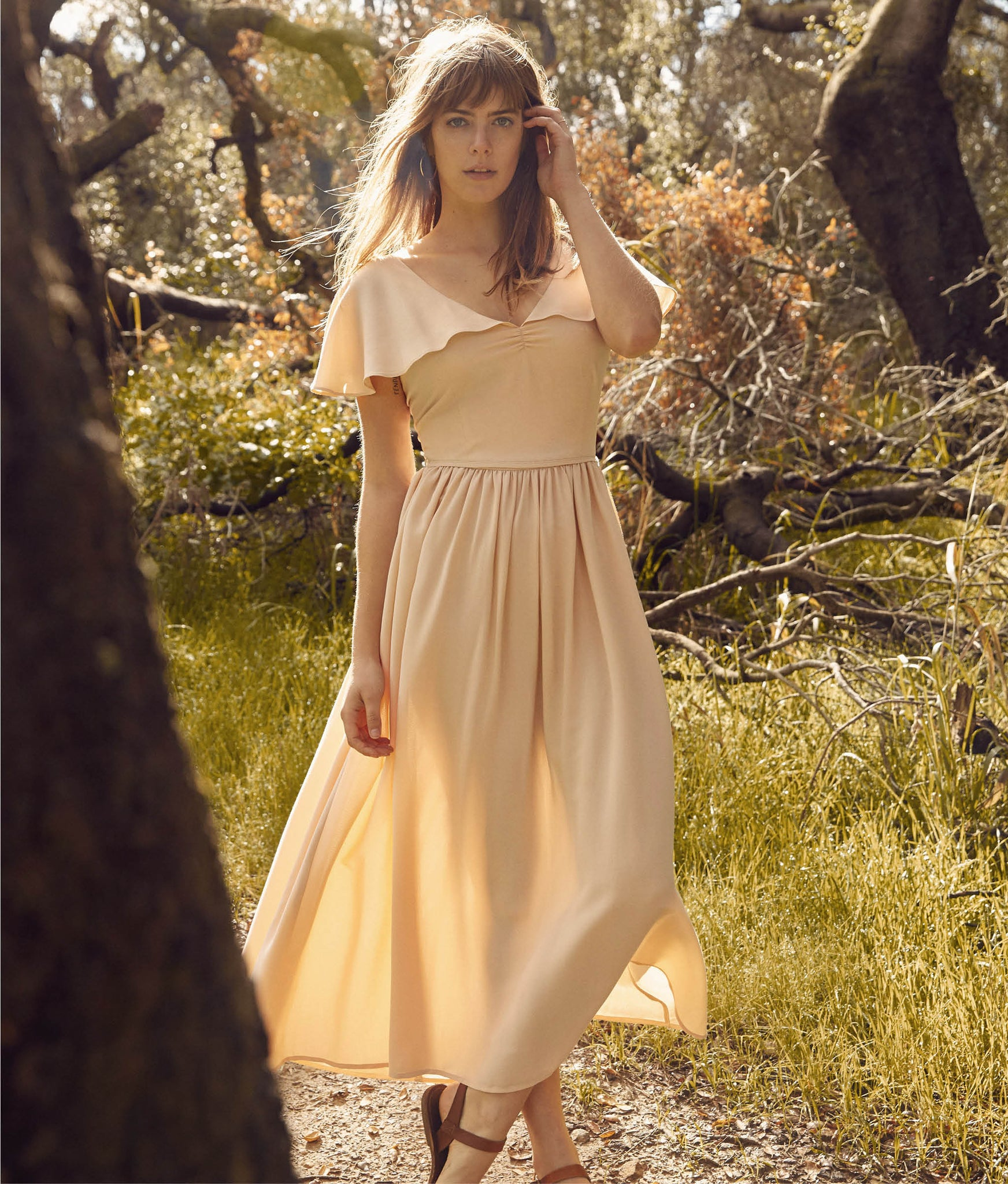The Monarch Dress | Butterscotch