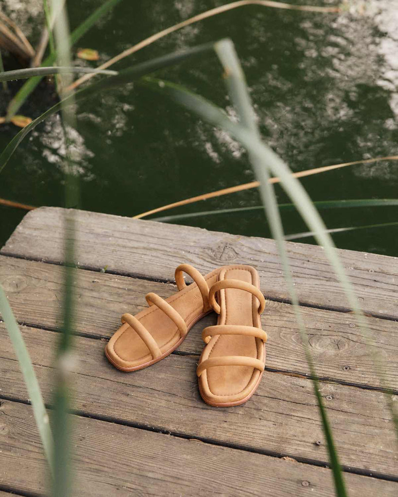 The Monroe Sandal | Walnut Leather