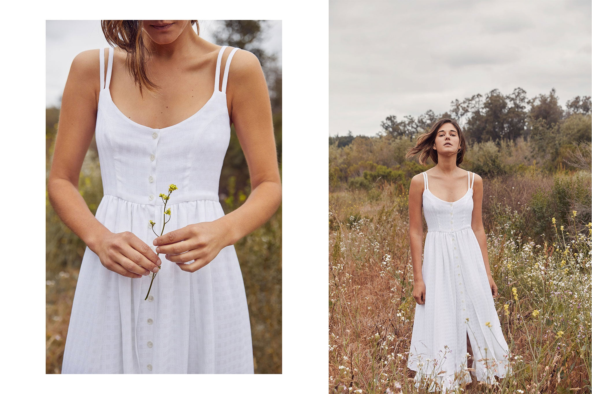 The Nicks Dress | Alabaster