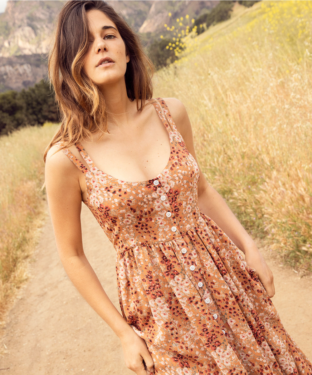 The Nicks Dress | Rust Garden
