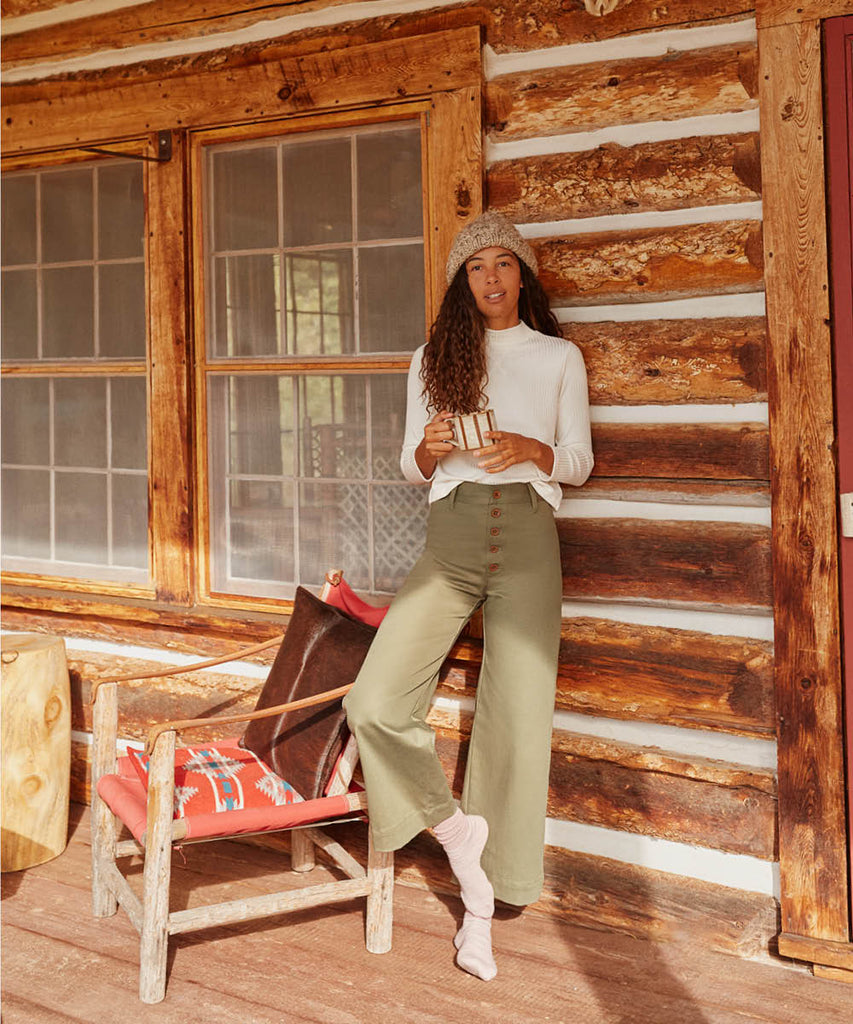 The Noah Pant | Olive image 2