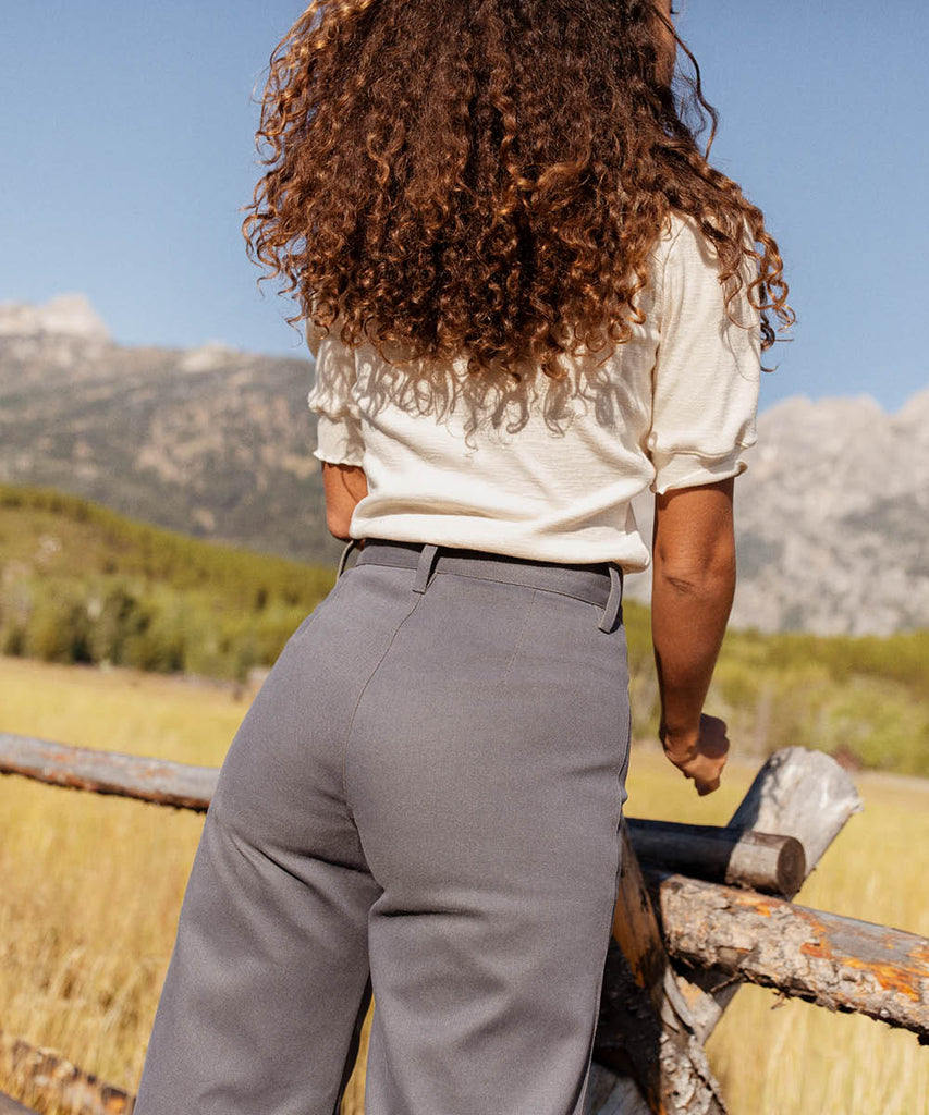 The Noah Pant | Slate Blue image 5