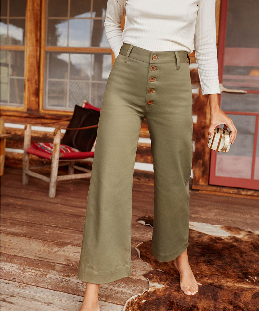 The Noah Pant | Olive image 6