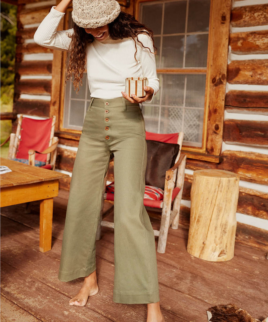 The Noah Pant | Olive image 8