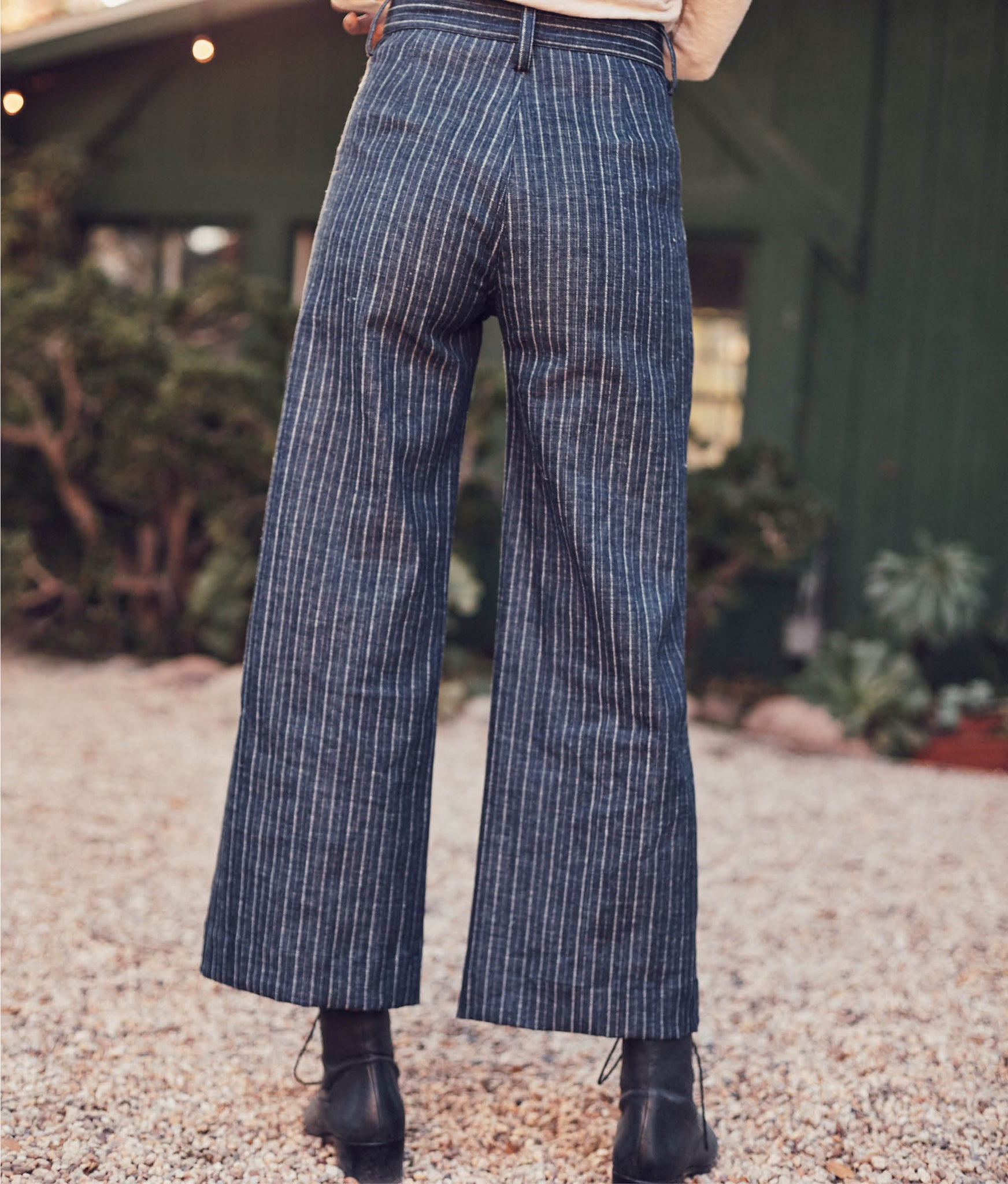 The Noah Pant | Railroad Stripe