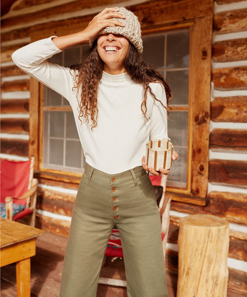 The Noah Pant | Olive image 10