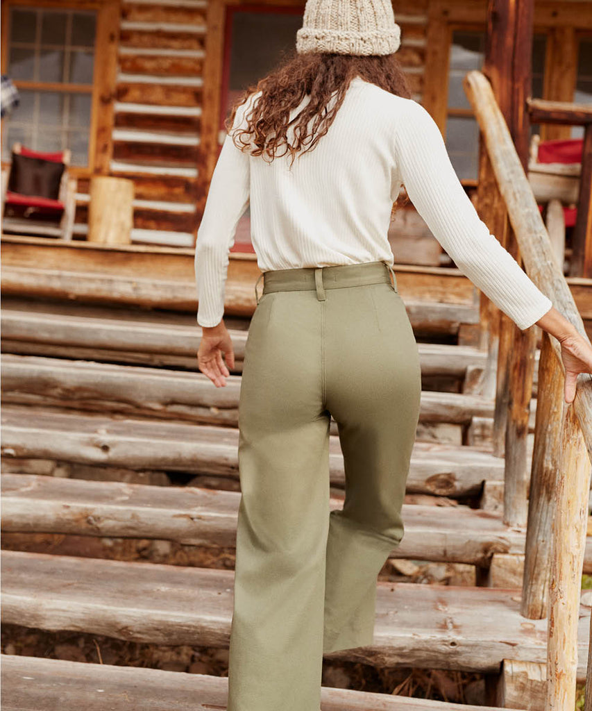 The Noah Pant | Olive image 12
