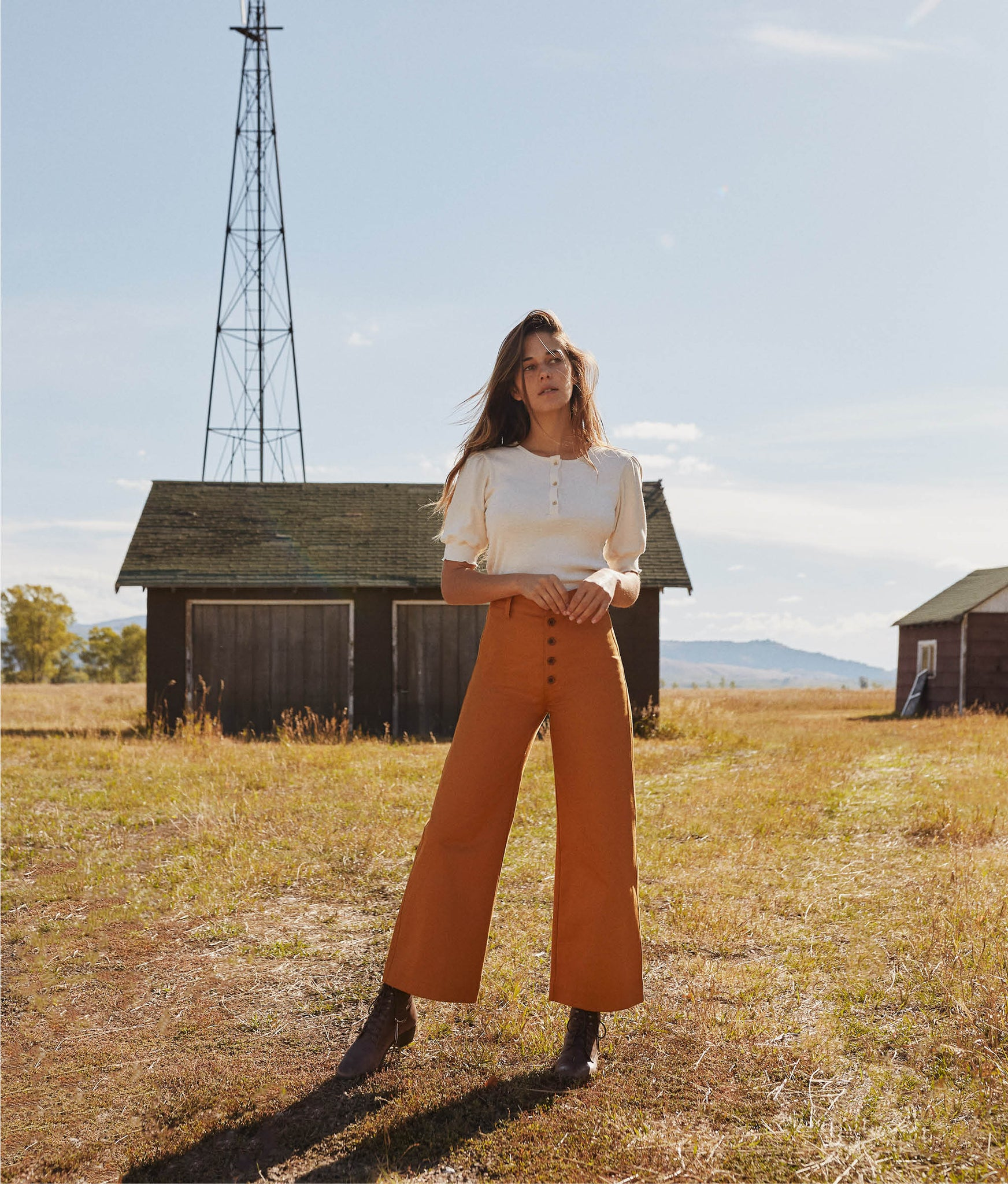 The Noah Pant | Pumpkin