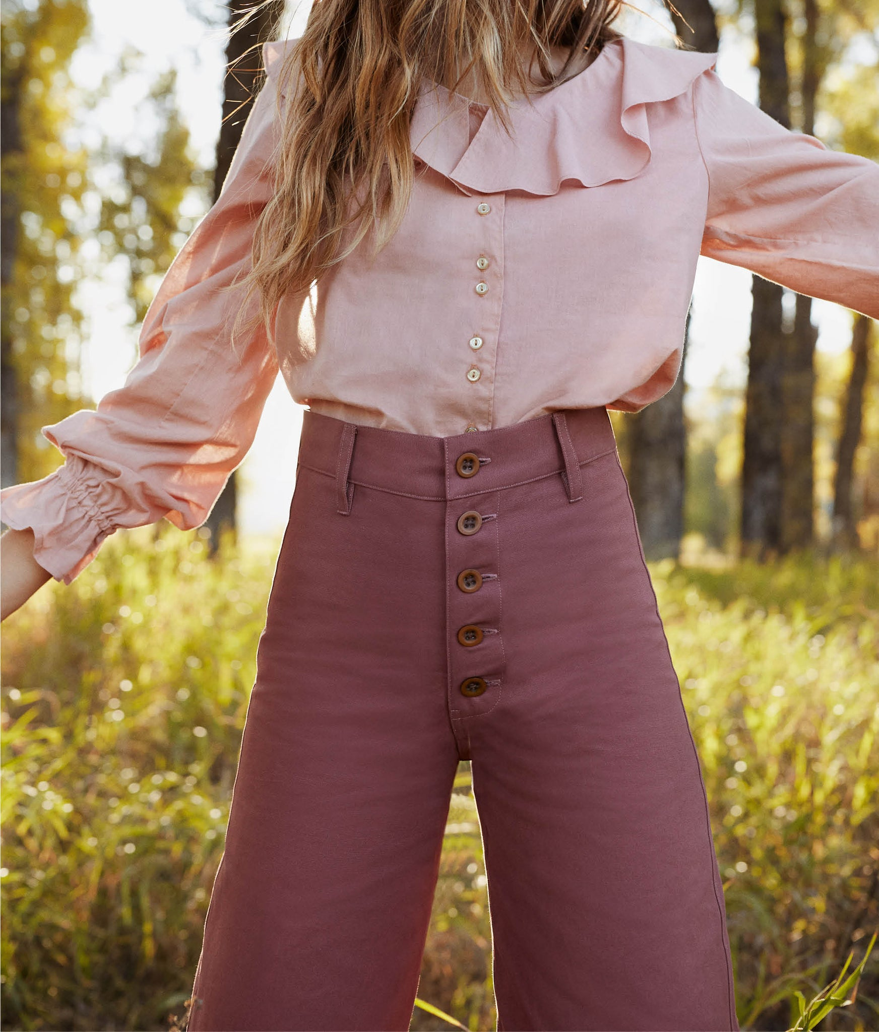 The Noah Pant | Boysenberry