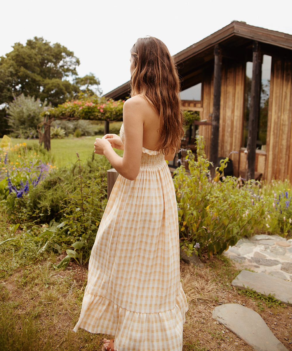 The Noelle Dress | Honey Checker