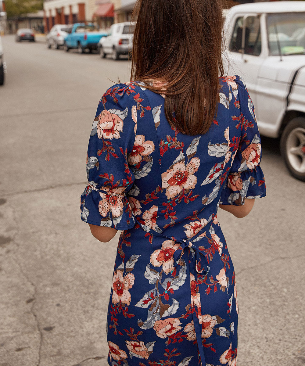 The Ono Dress | Midnight Anemone