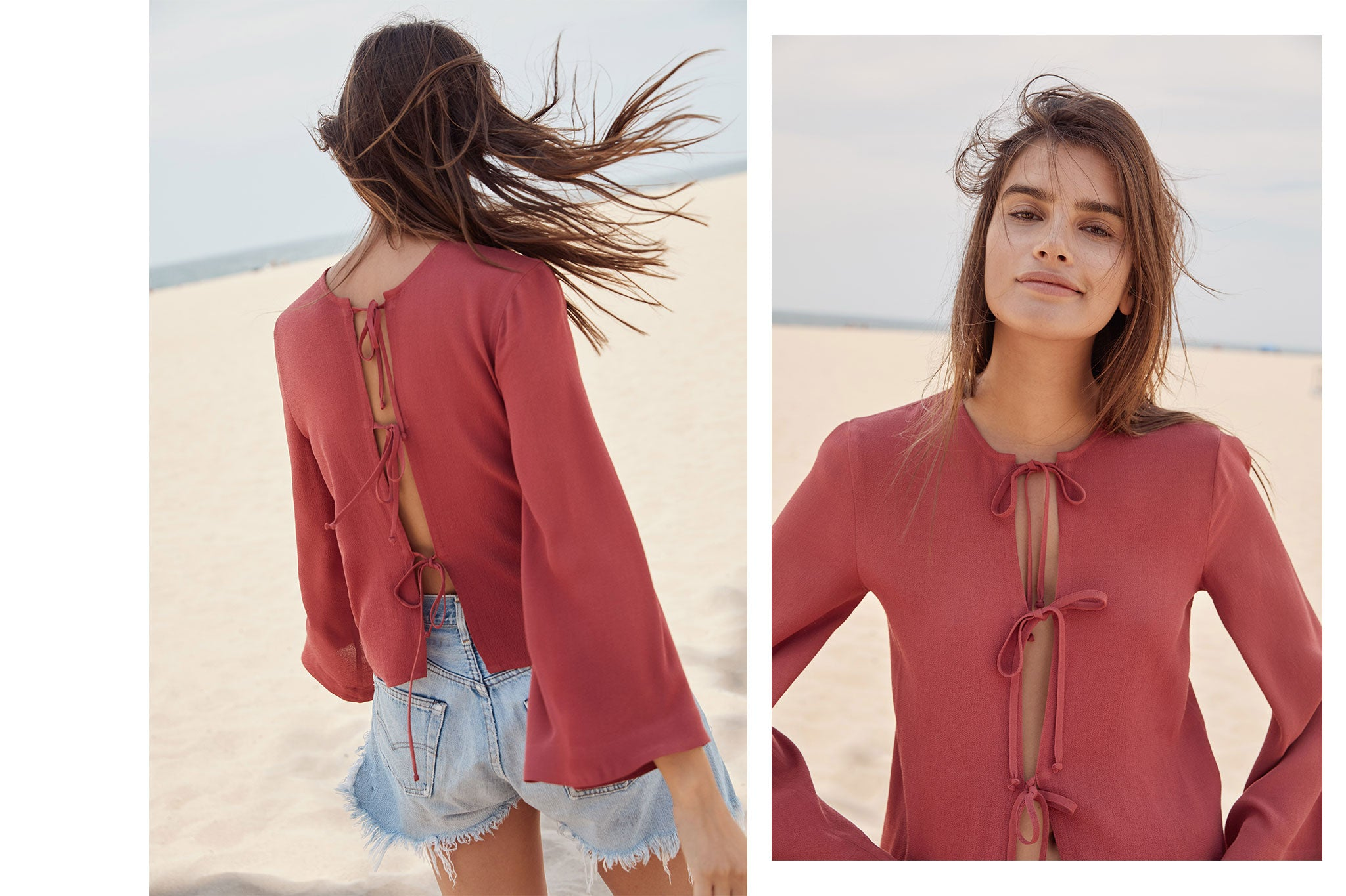 The Opal Top | Rosewood