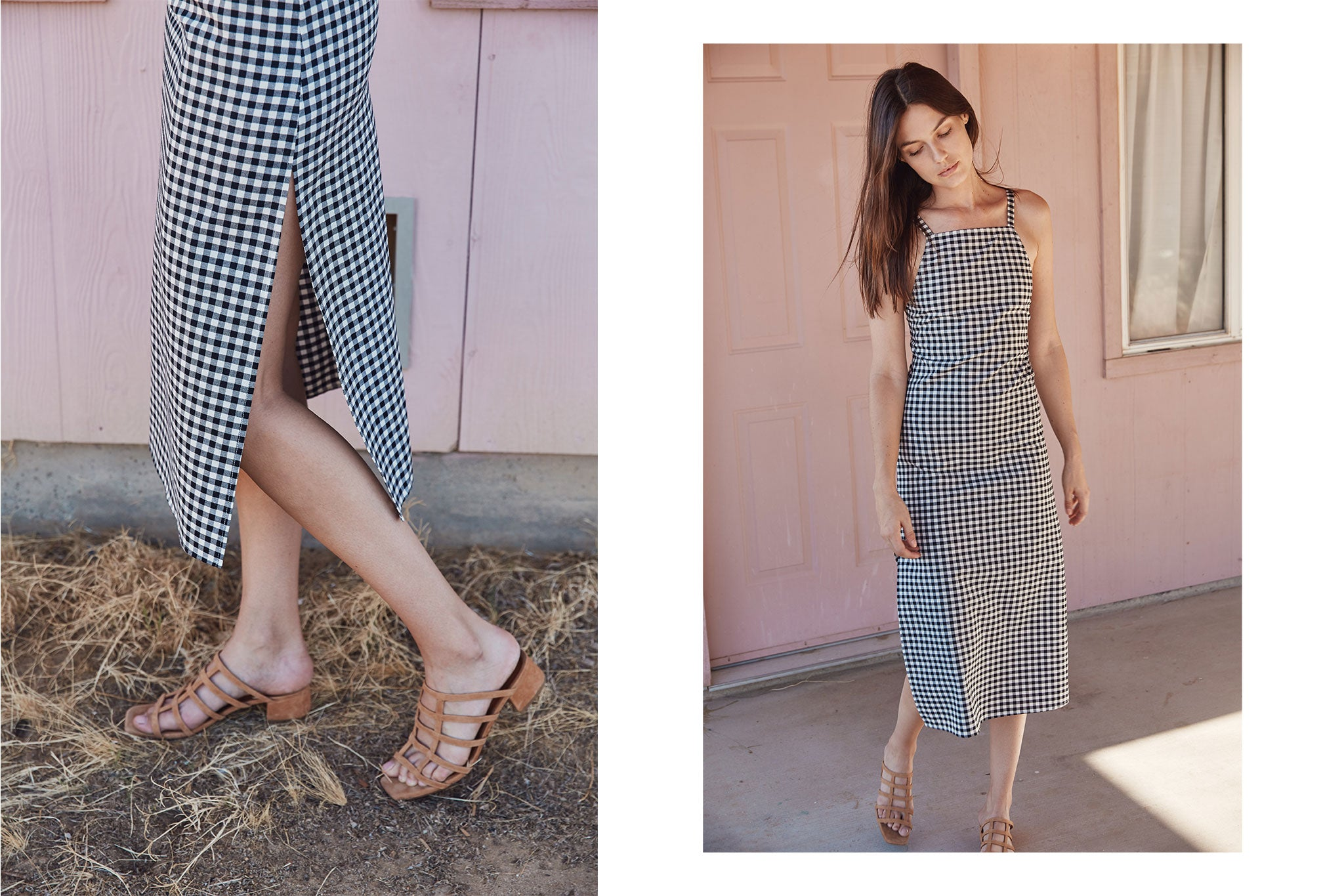 The Orchid Dress | Ebony Checker