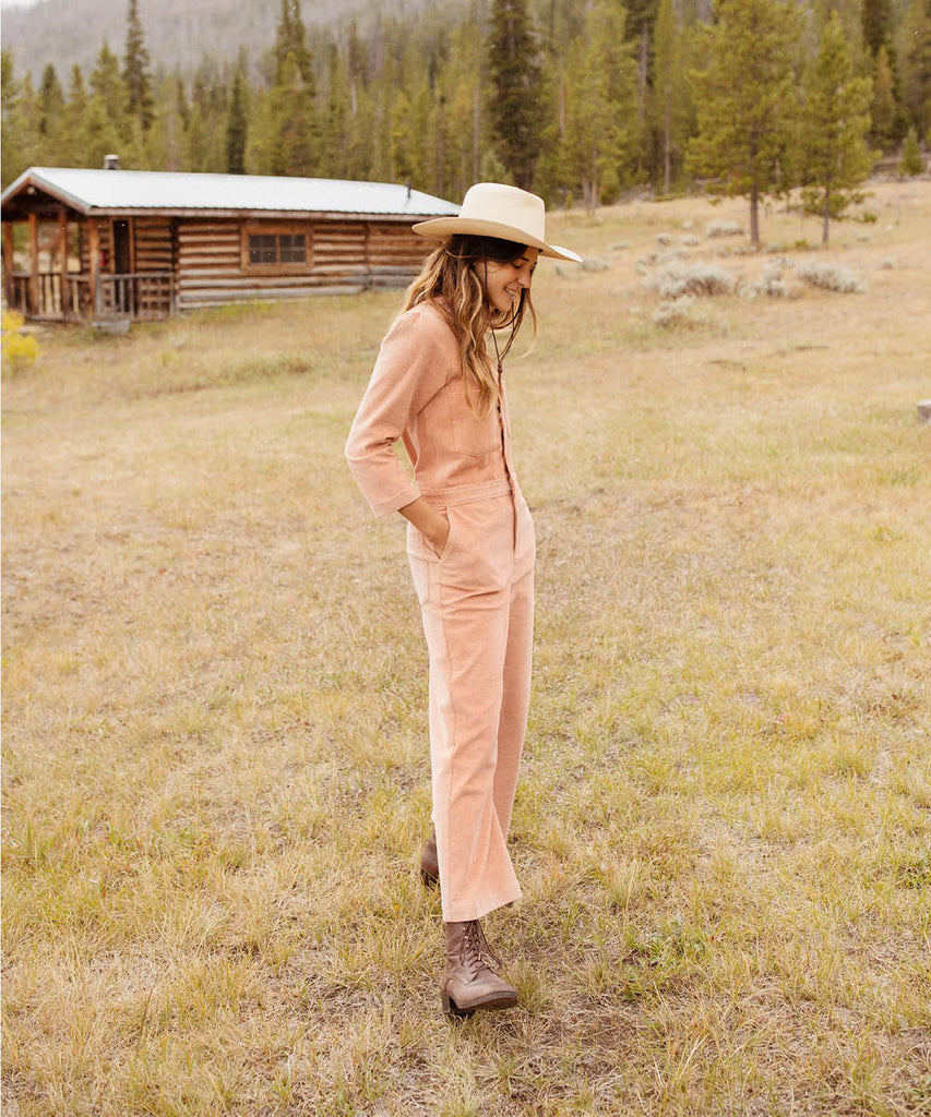 The Painter Jumper | Peach Corduroy