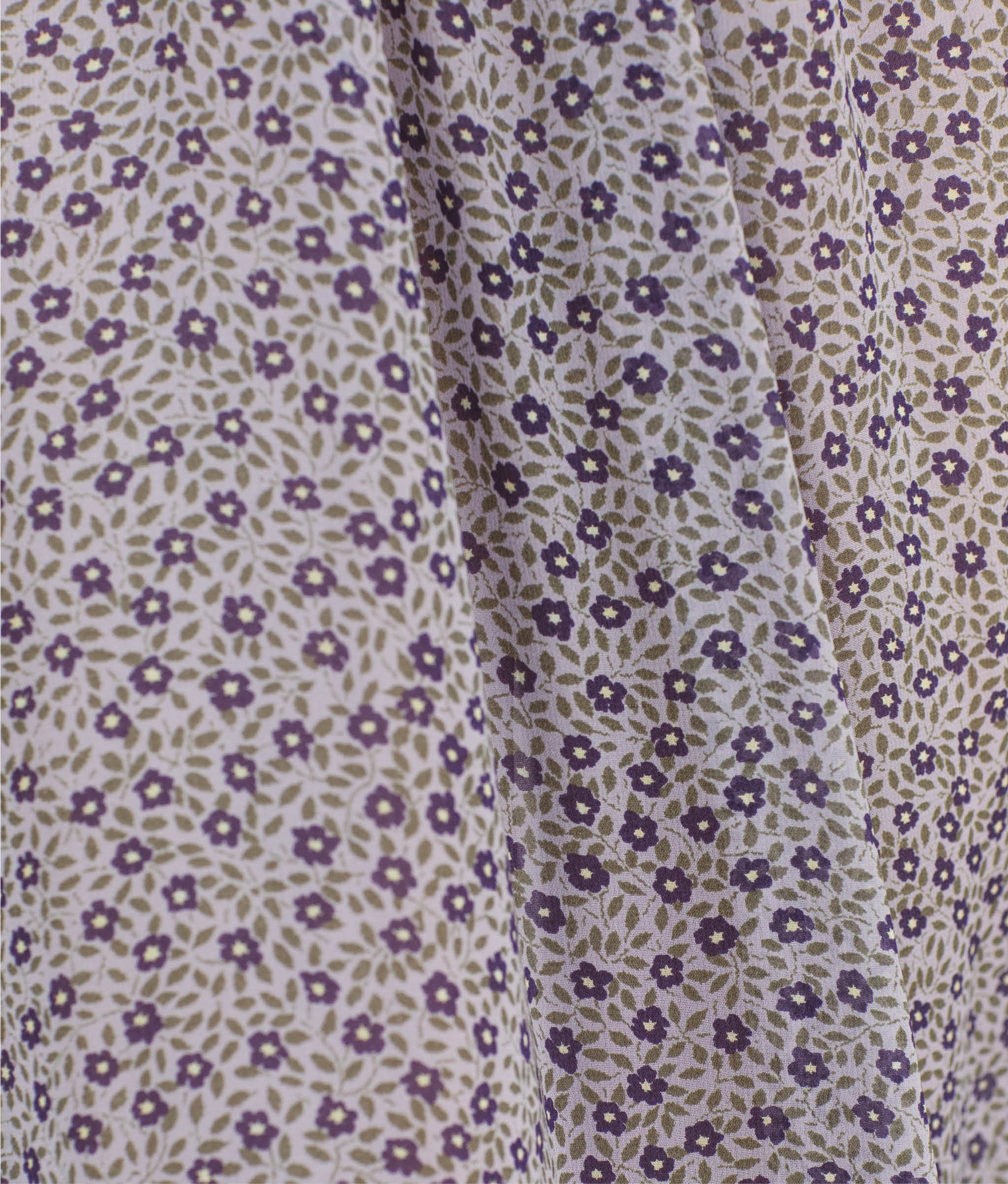 The Paisley Dress | Aubergine Spray