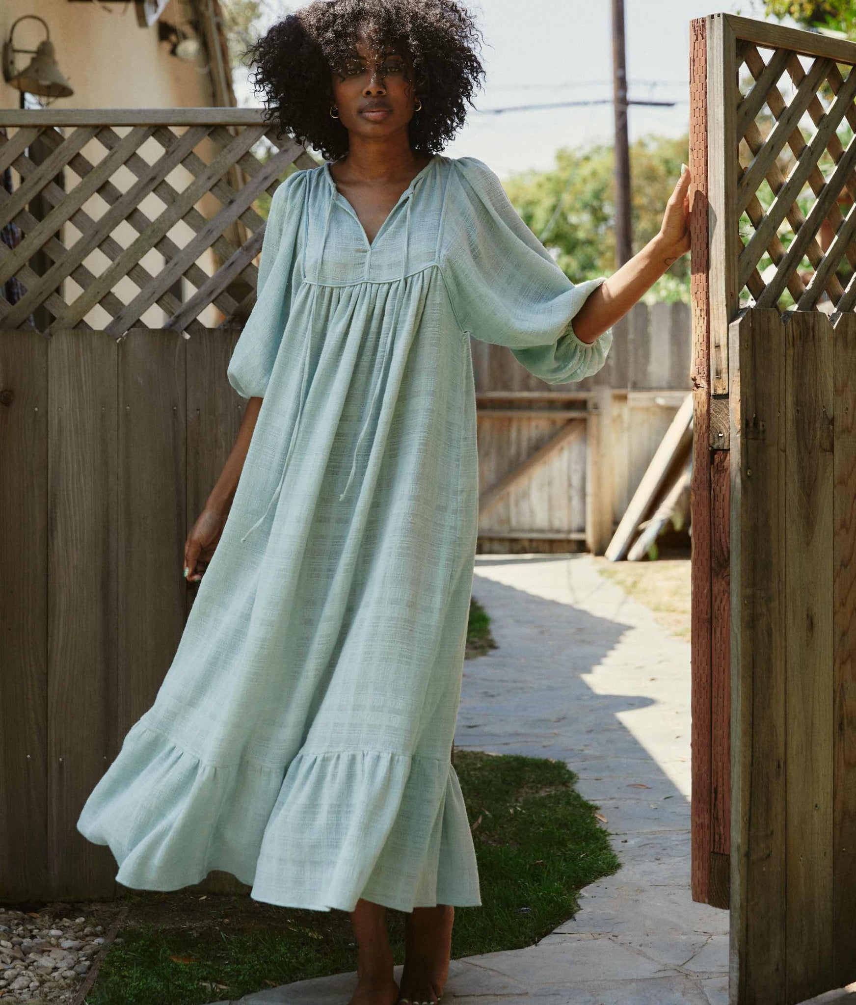 The Paisley Dress | Woven Mint