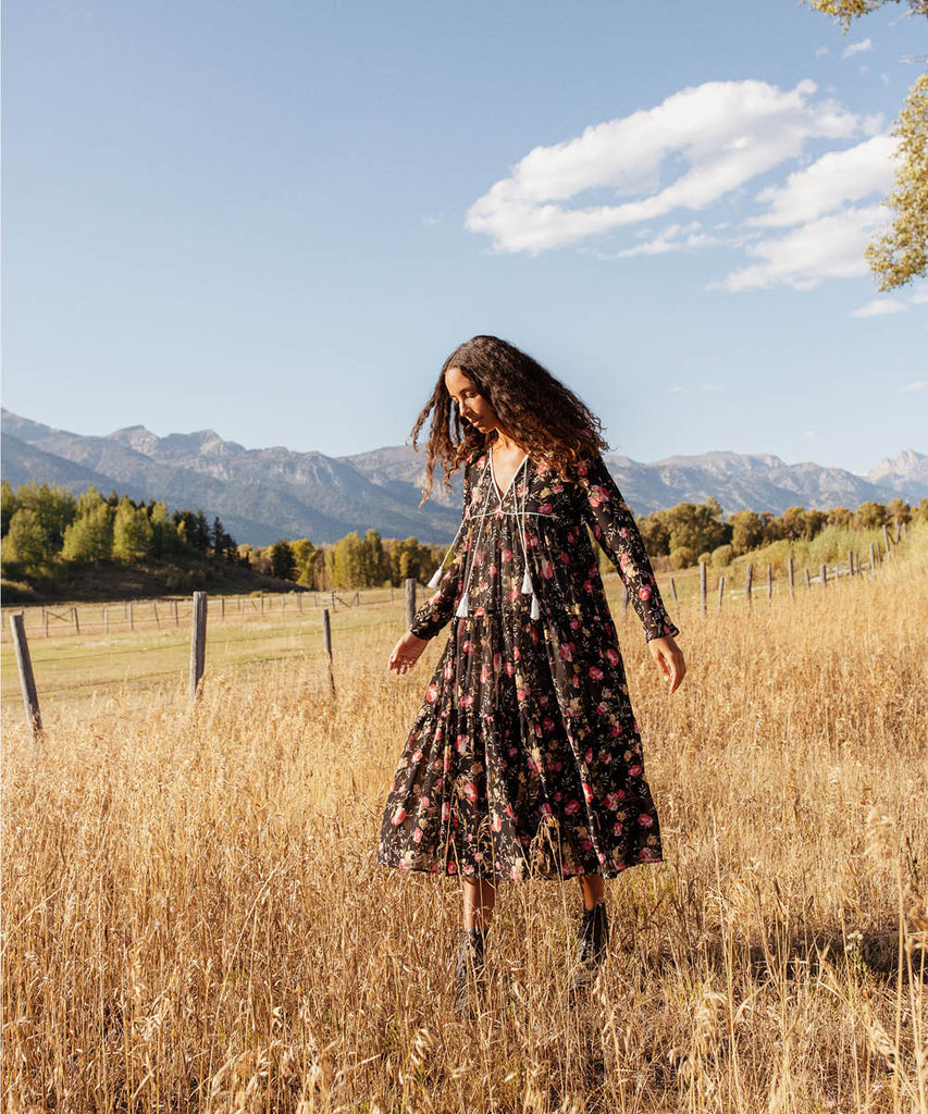 The Paloma Dress | Night Chintz