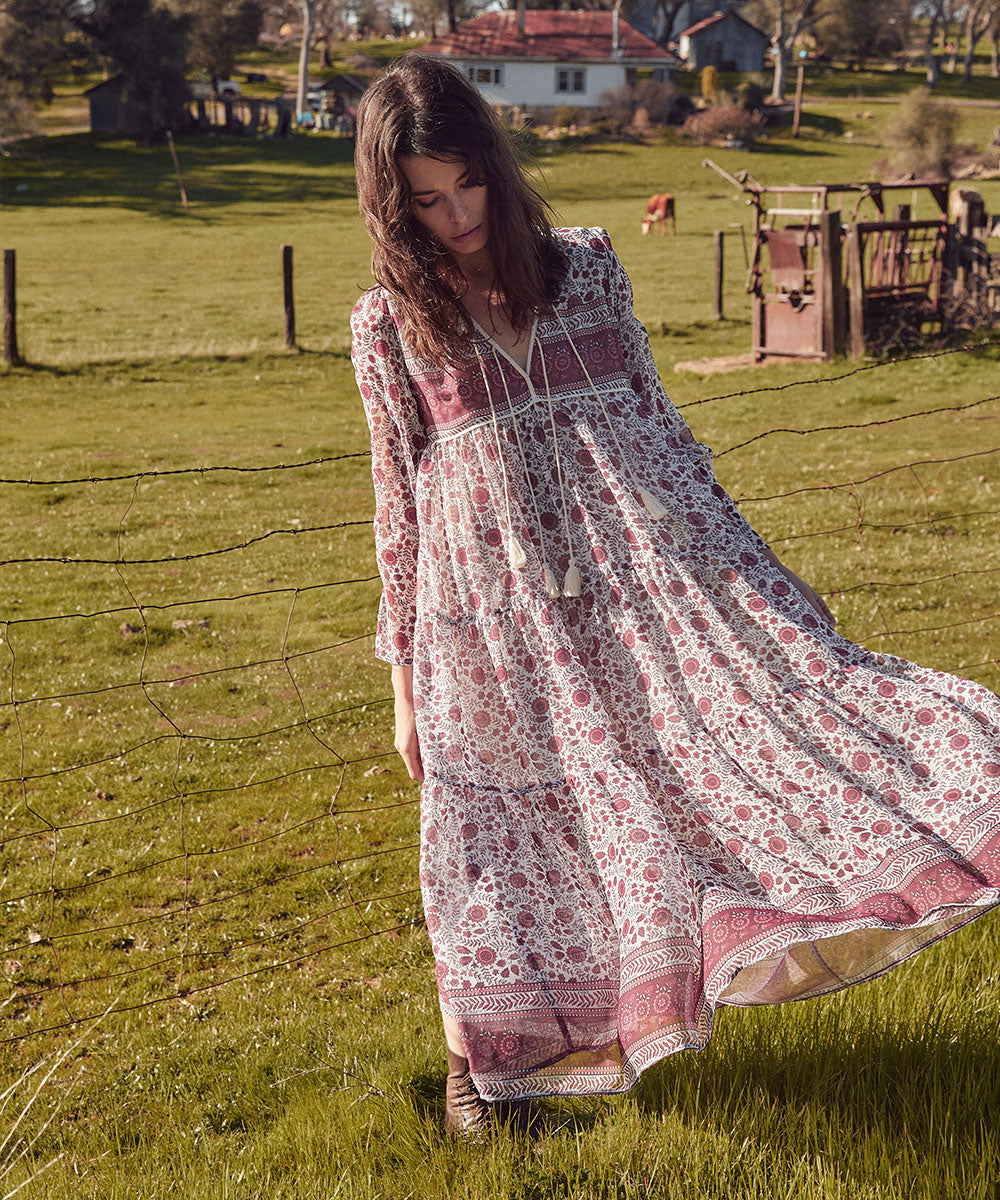 The Paloma Dress | Gooseberry Floral