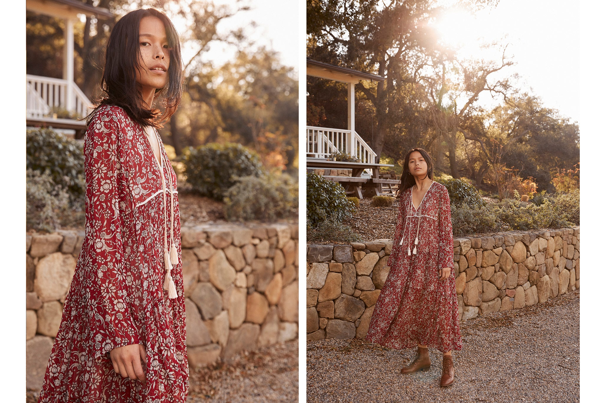The Paloma Dress | Jacobean Oxblood (4-of-a-kind)