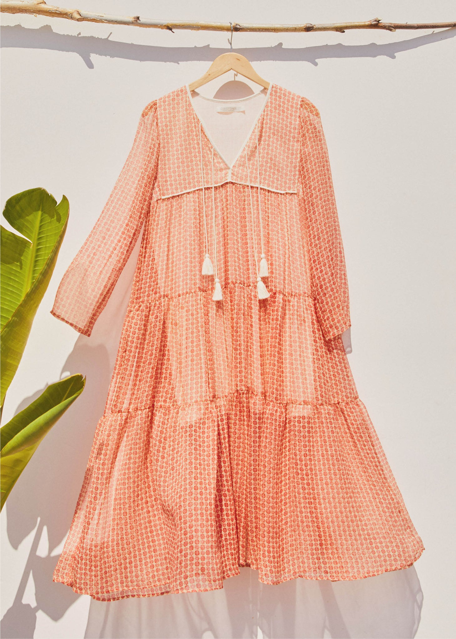 The Paloma Dress | Watermelon Ditsy (2-of-a-Kind)