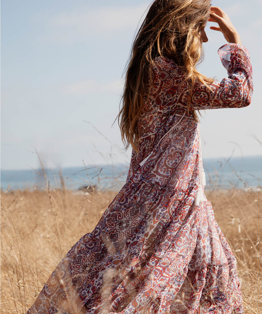The Paloma Dress | French Paisley