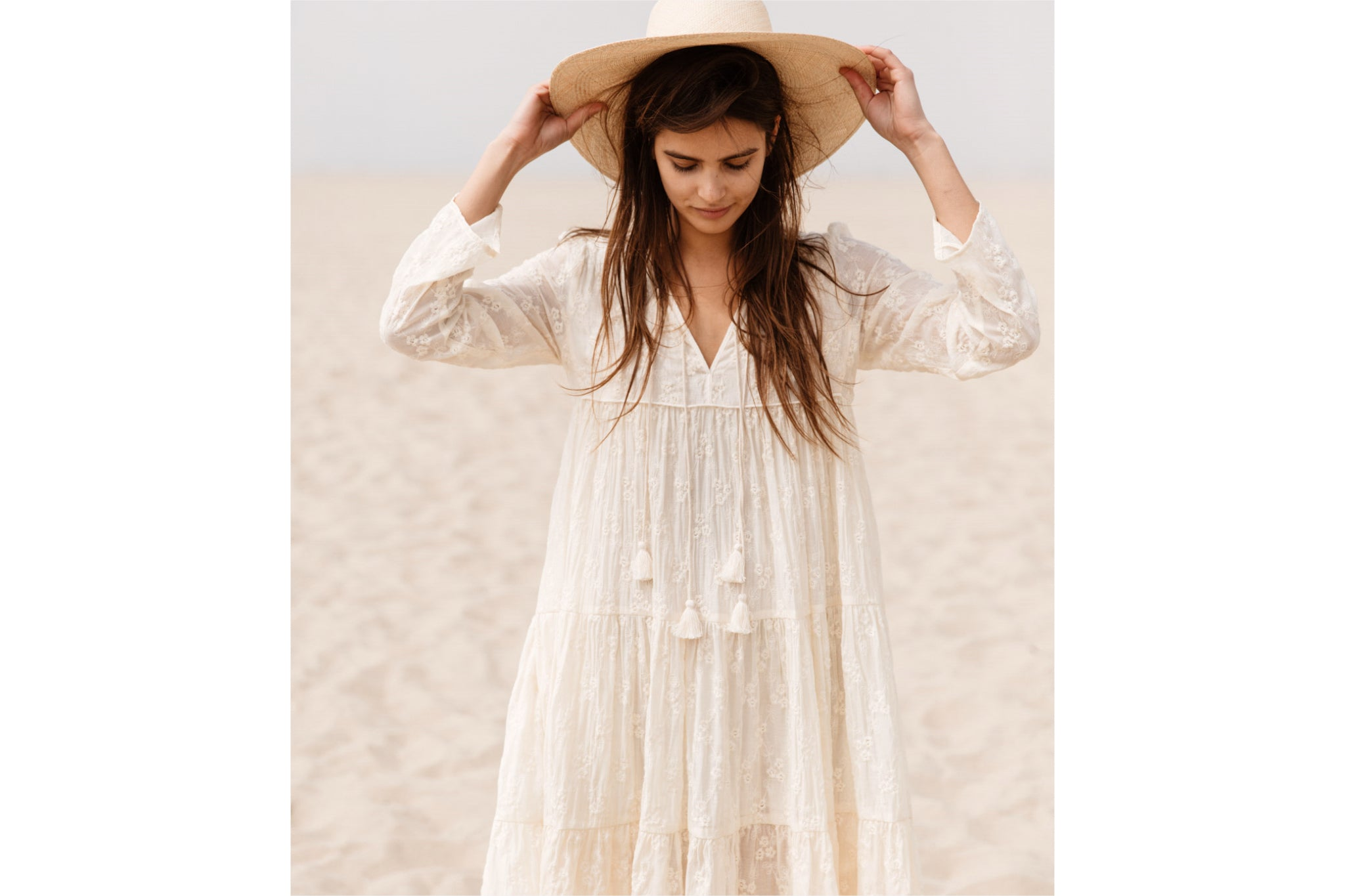 The Paloma Dress | Vintage Embroider
