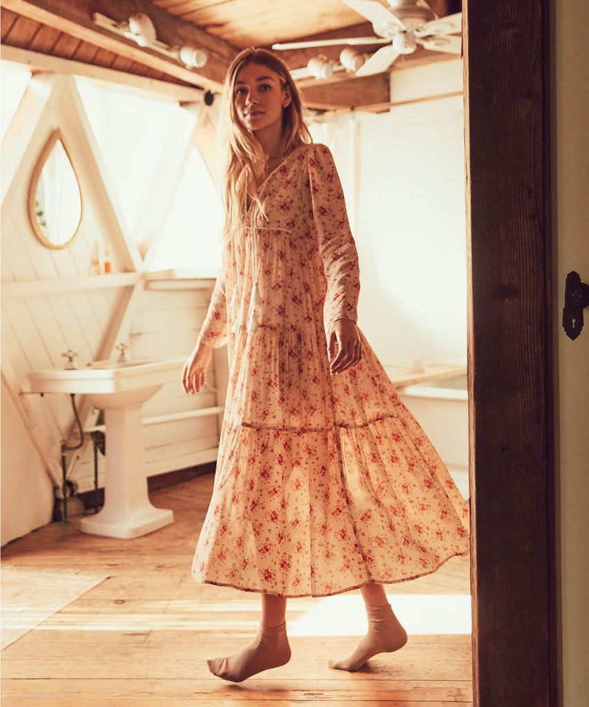 The Paloma Dress | Tea Rose Bloom image 5