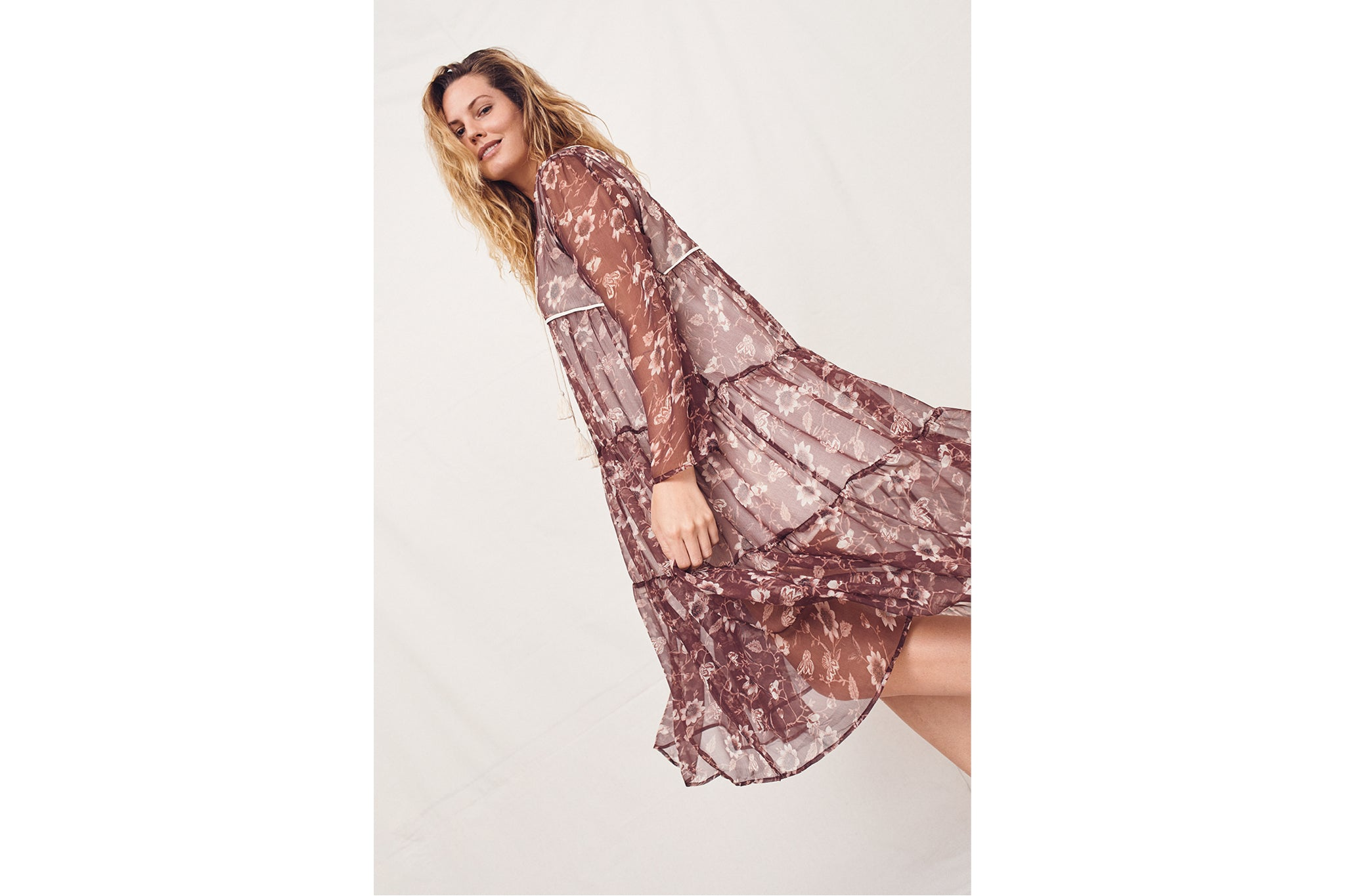 The Paloma Dress | Umber Sunflower