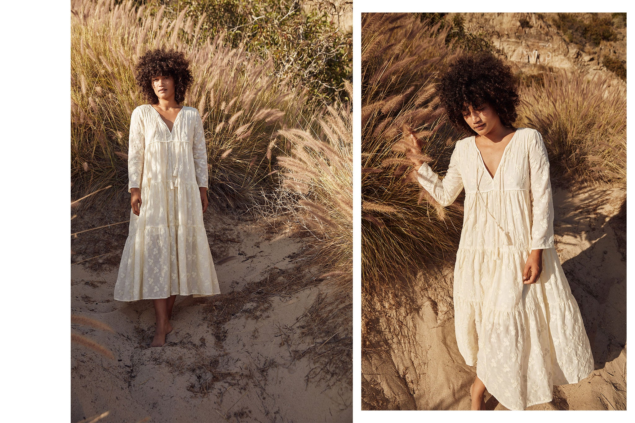 The Paloma Dress Petites | Vintage Embroider