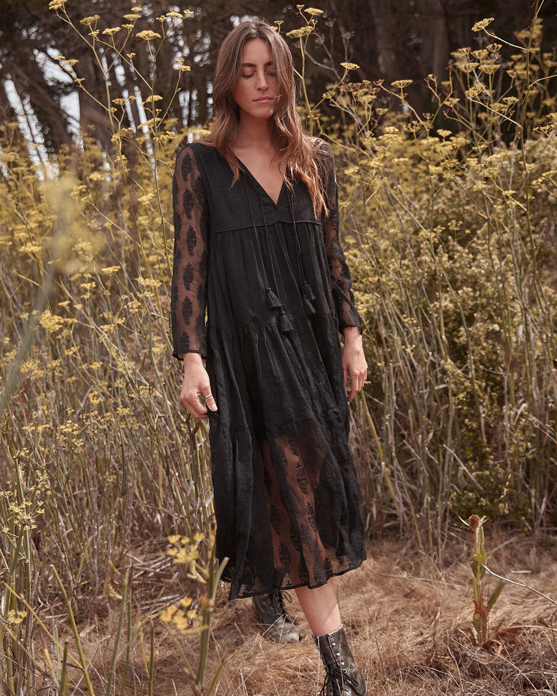 The Paloma Dress | Noir Lace