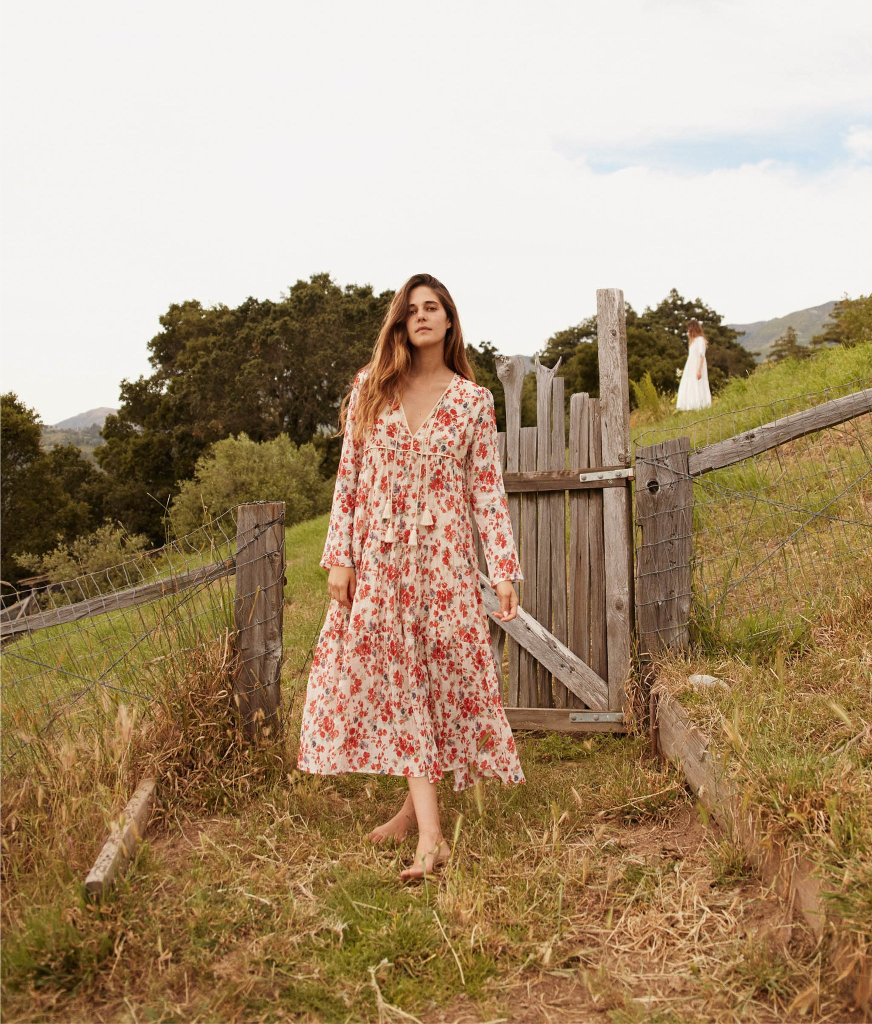 The Paloma Dress | Vermillion Bloom