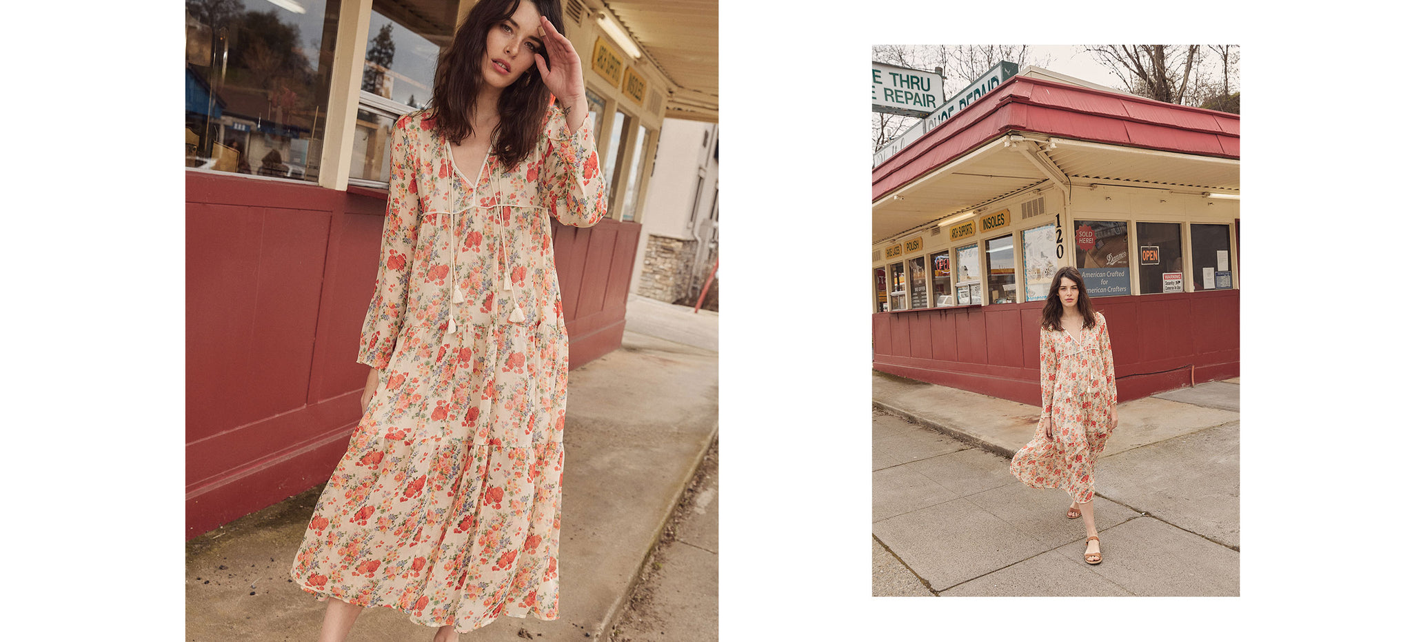 The Paloma Dress | Vermillion Field