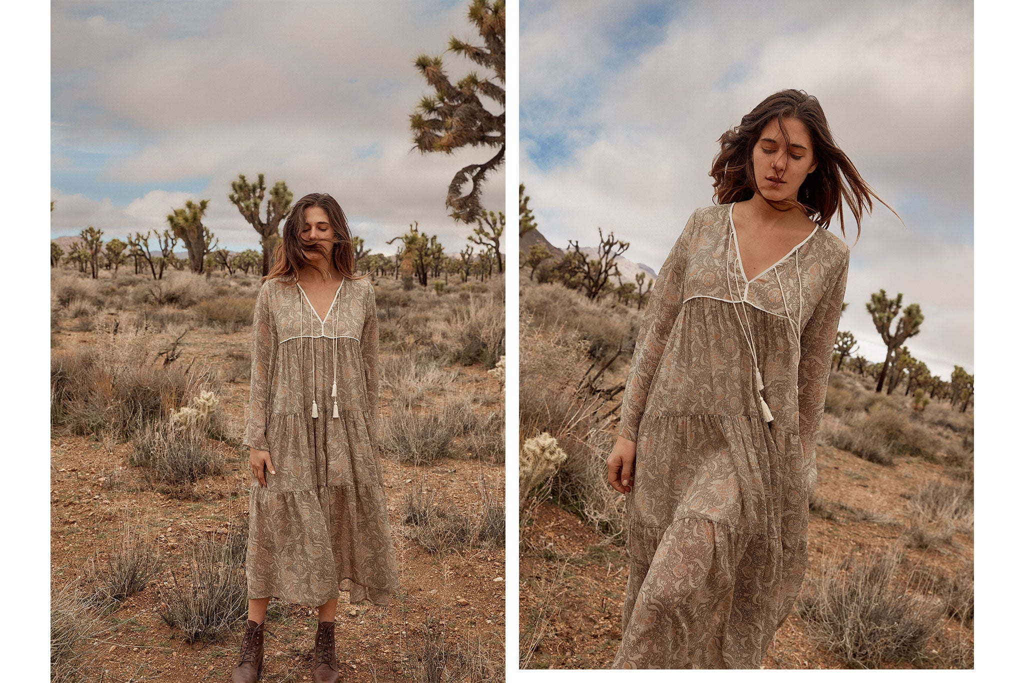 The Paloma Dress | Terra Paisley (1-of-a-kind)