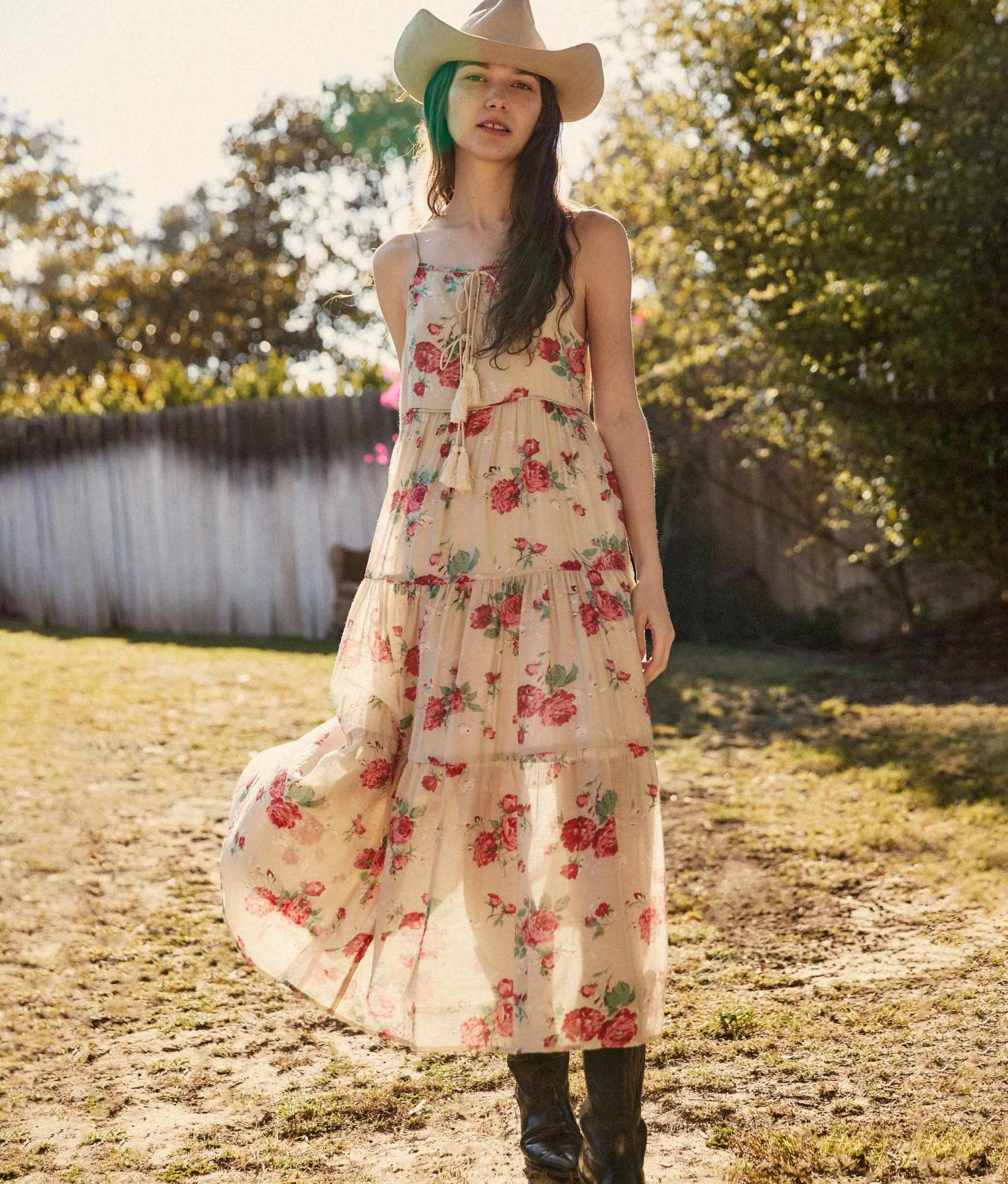 The Petunia Dress | Rose Bloom (Lined)