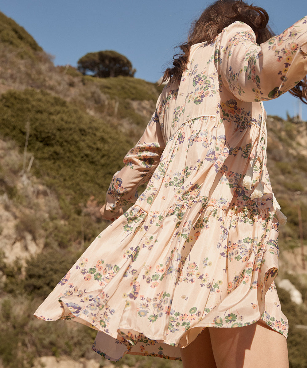 The Phoenix Dress | Apricot Field