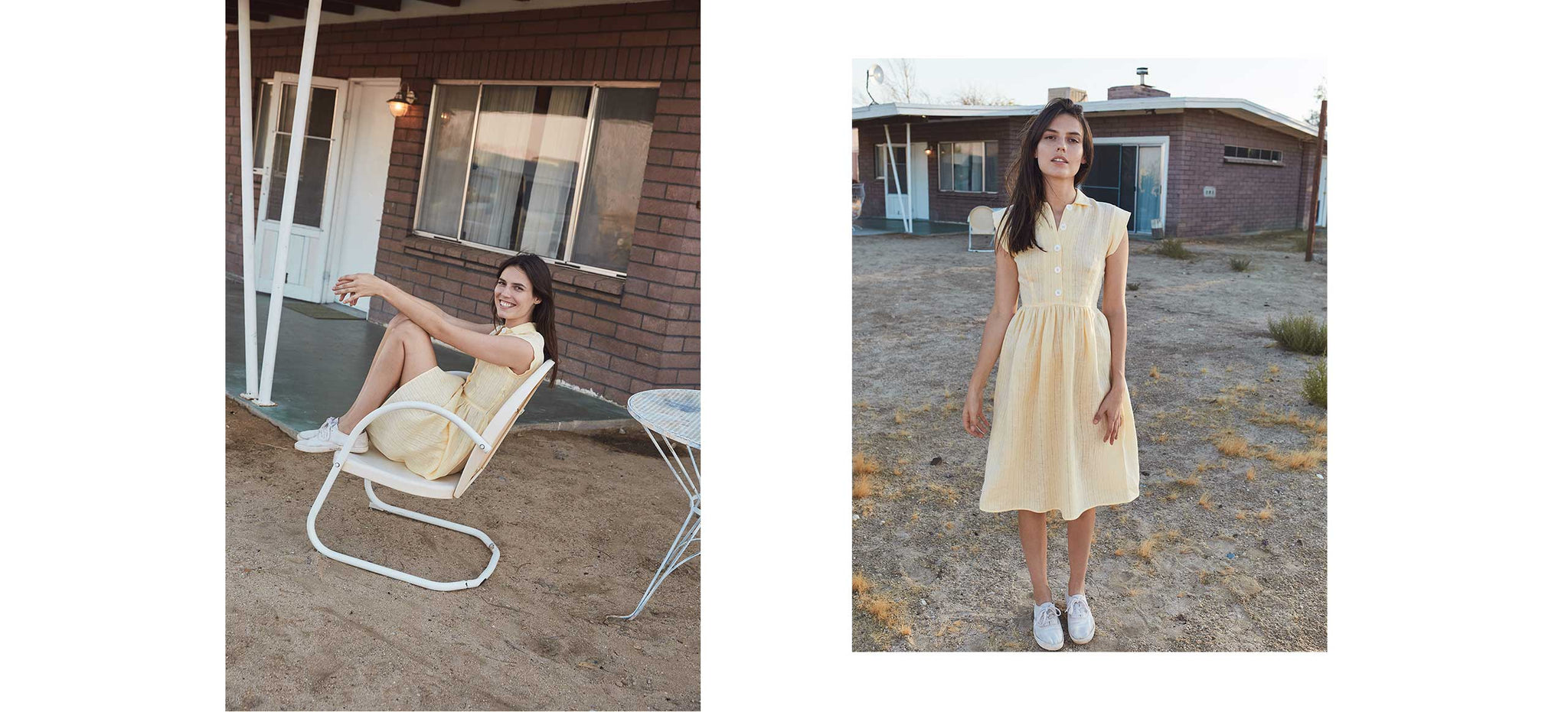 The Piper Dress (Short) | Buttercup Linen
