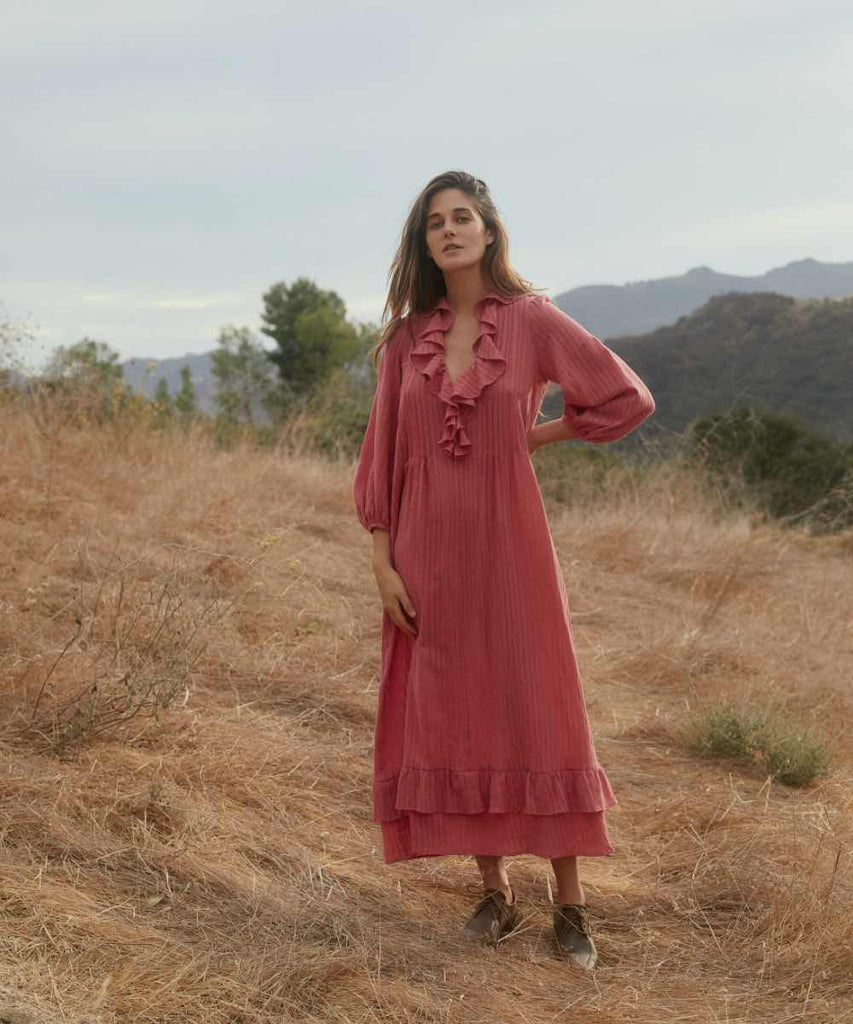The Plum Dress | Washed Thulian