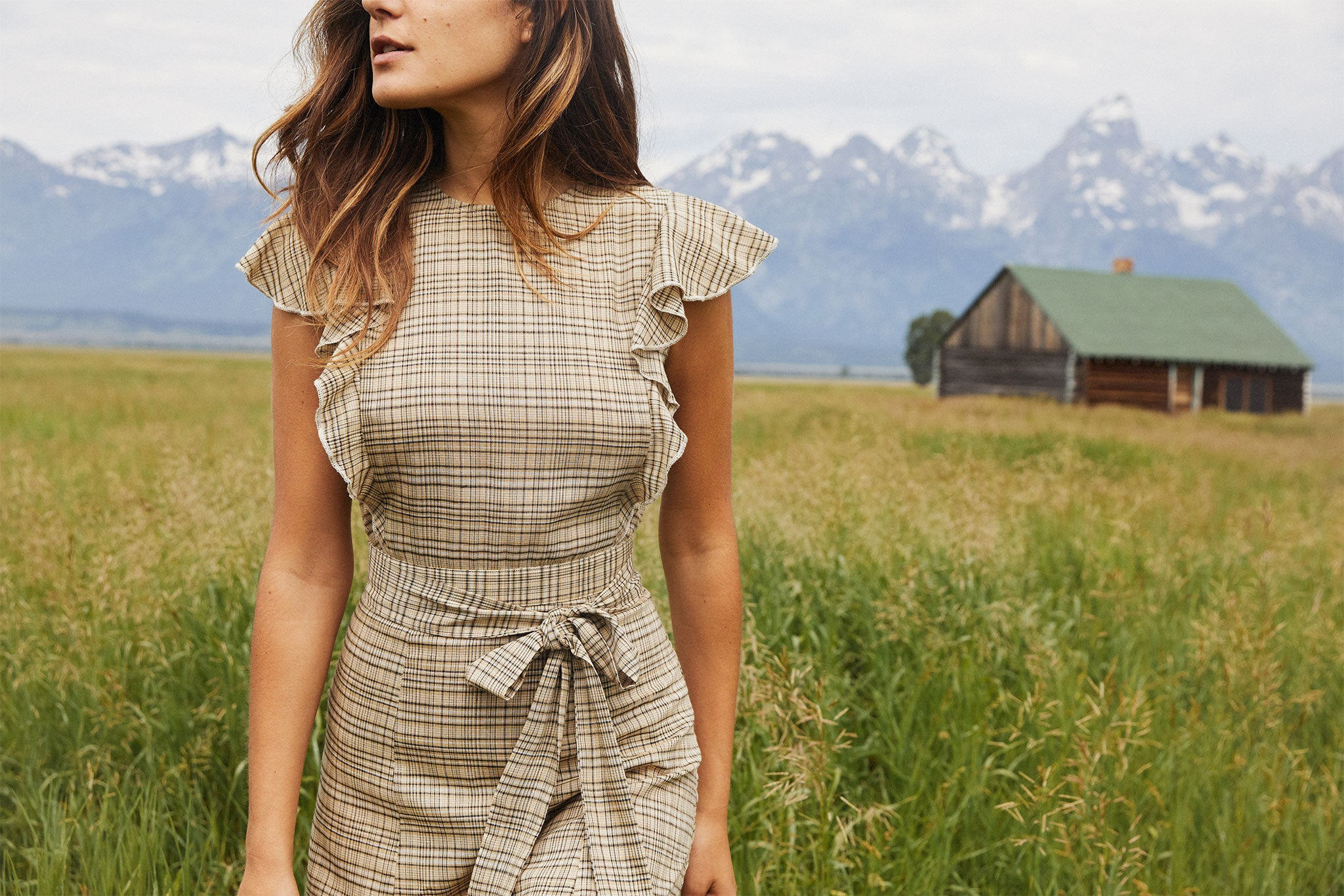 The Quinn Dress | Terra Plaid