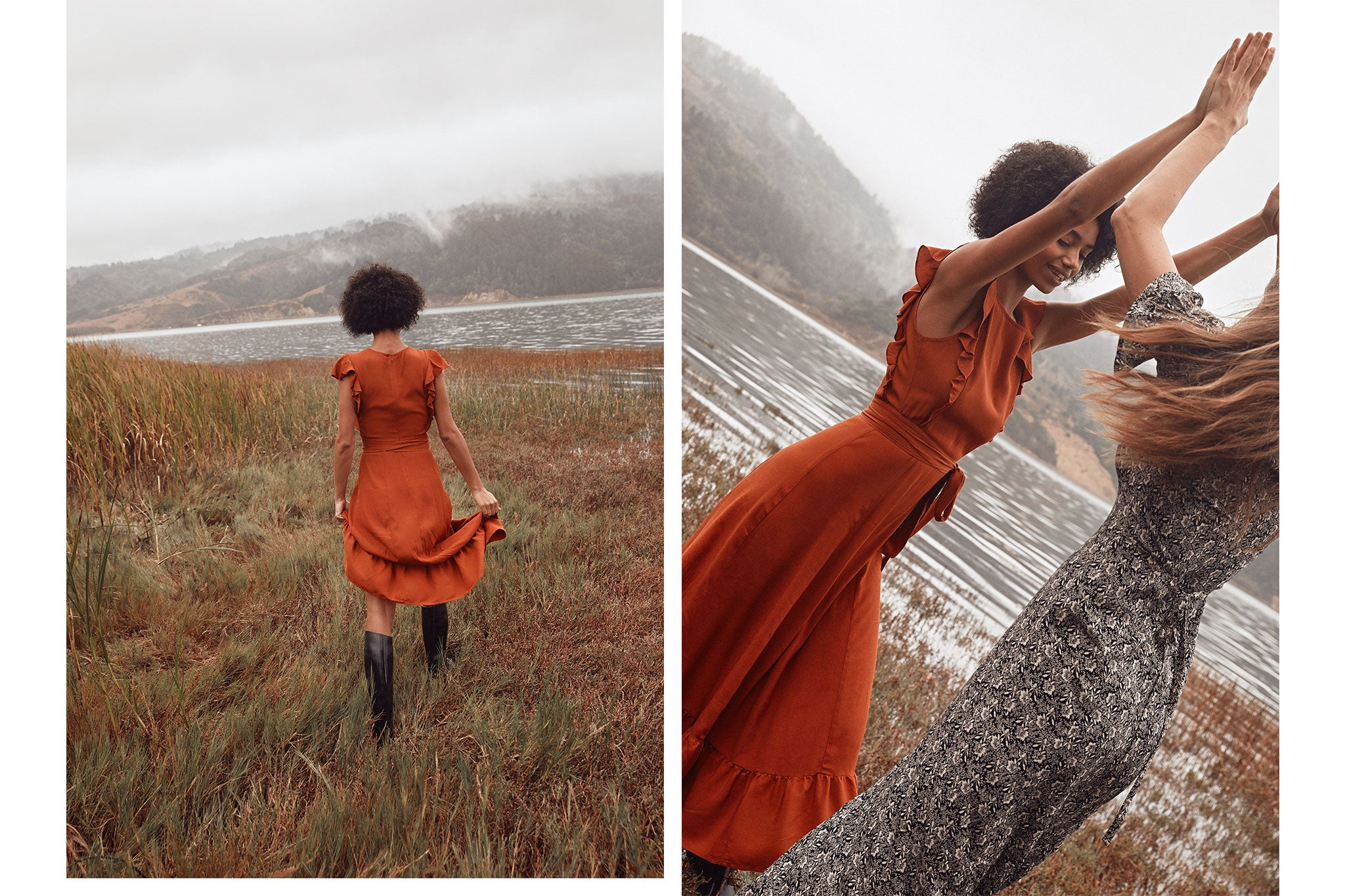 The Quinn Dress | Rust