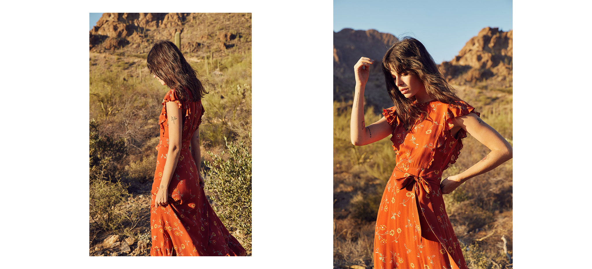The Quinn Dress | Auburn Floral