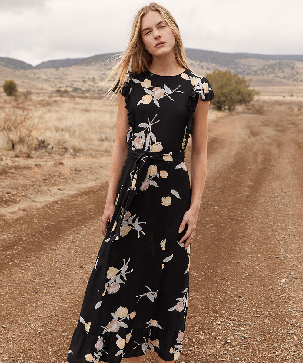 The Quinn Dress | Night Tulip