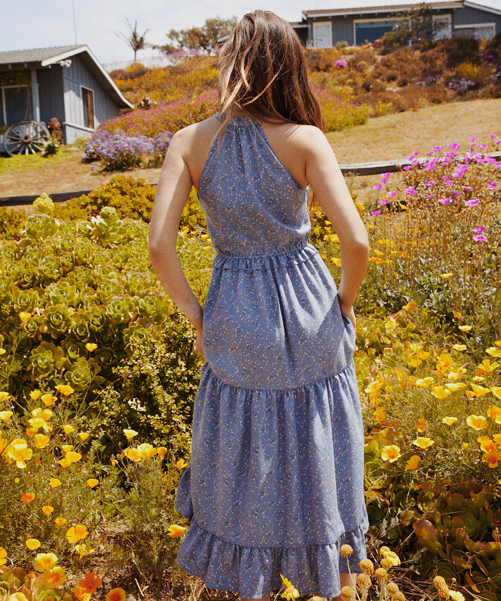The Reese Dress | Dusk Ditsy