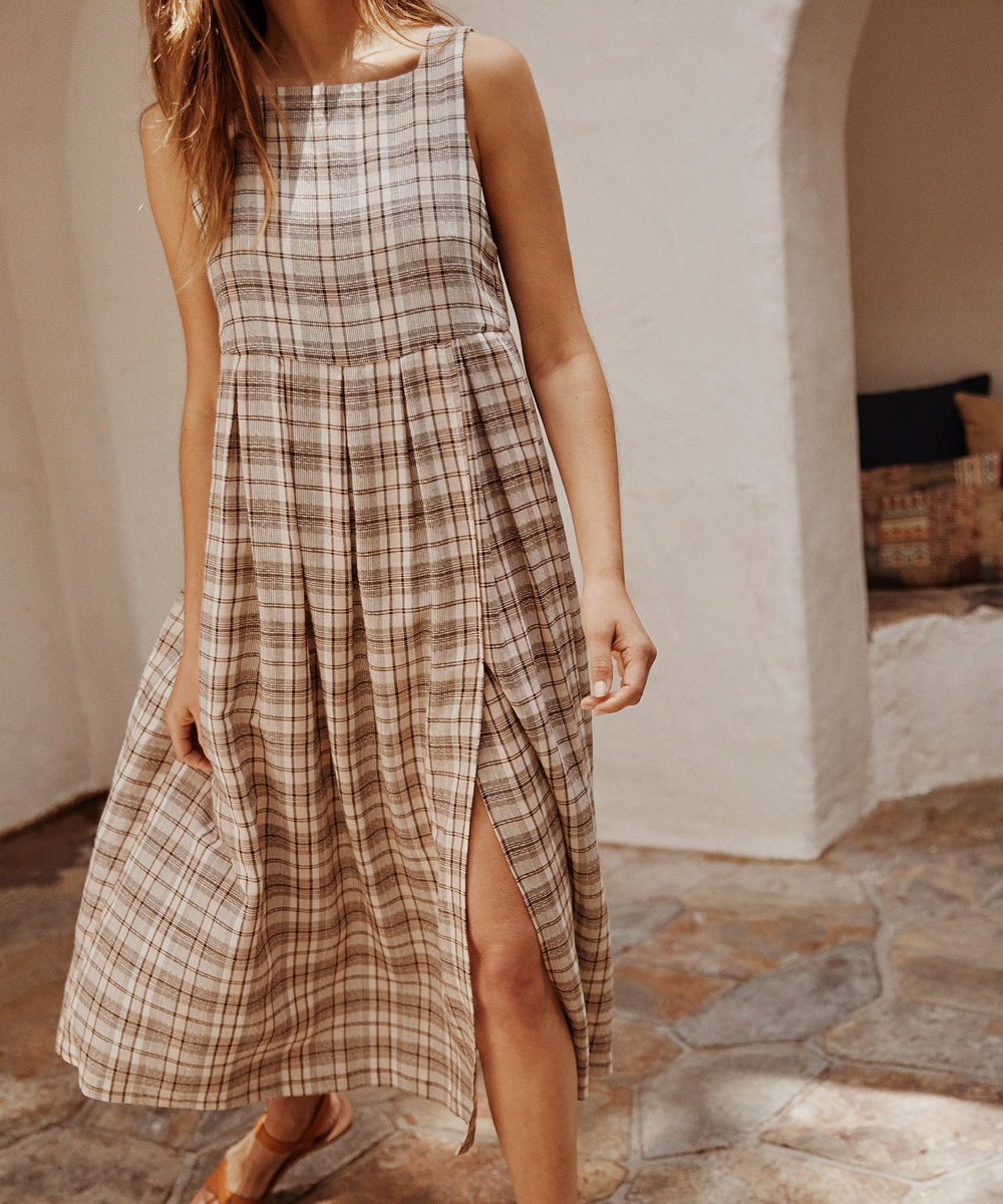 The Remy Dress | Hickory Plaid