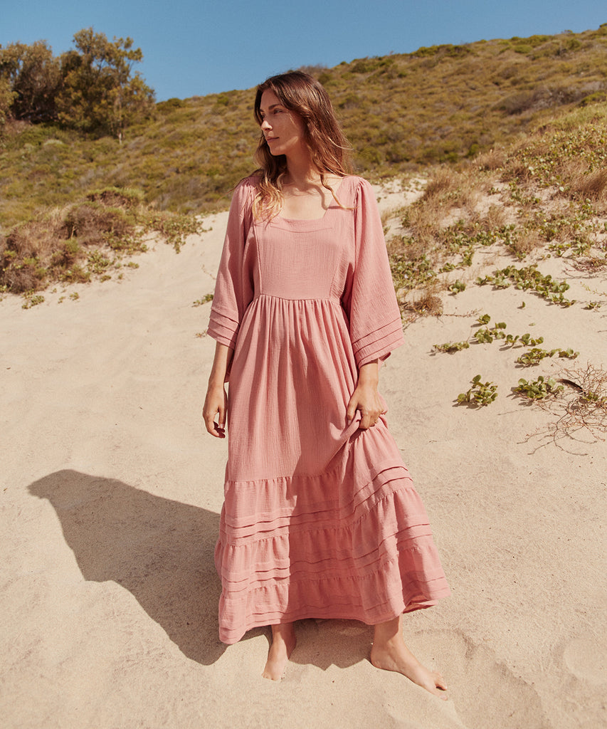 The Ria Dress | Washed Rose image 8