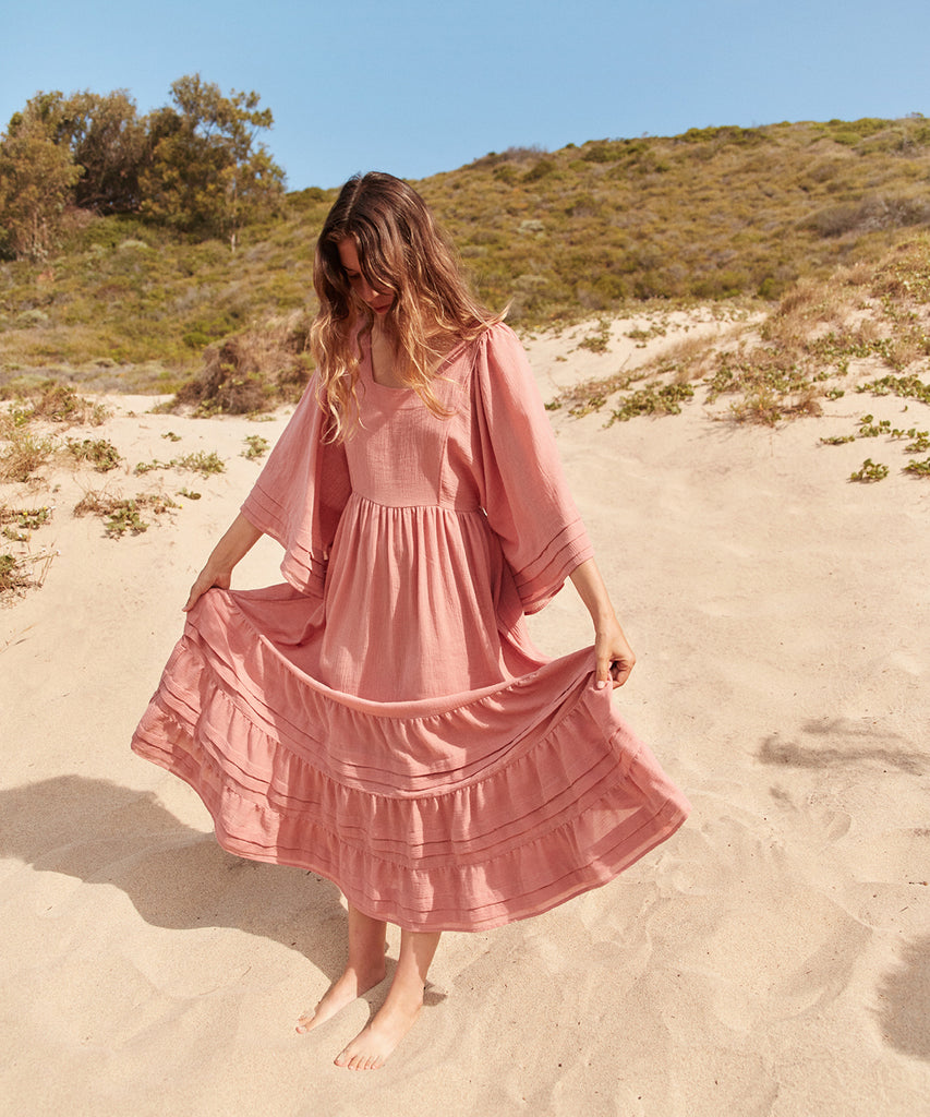 The Ria Dress | Washed Rose image 9