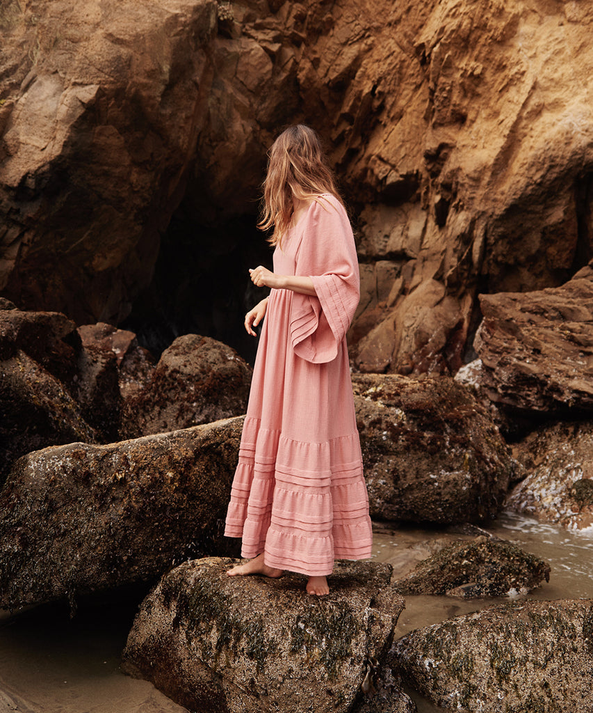 The Ria Dress | Washed Rose image 12
